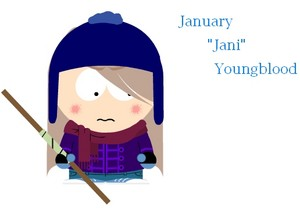 "January ""Jani"" Youngblood (My Fanmade Character)"