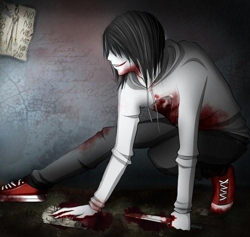 Jeff the killer hình nền containing a hip boot titled Jeff The Killer