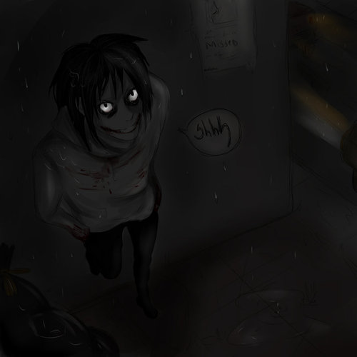 Jeff the killer Обои entitled Jeff being spotted