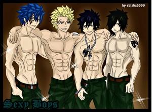 Jellal, Sting, Gray, Rogue