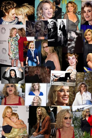 Jessica Lange Collage kwa Me