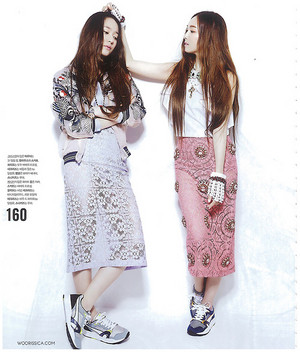 Jessica and Krystal for Nylon