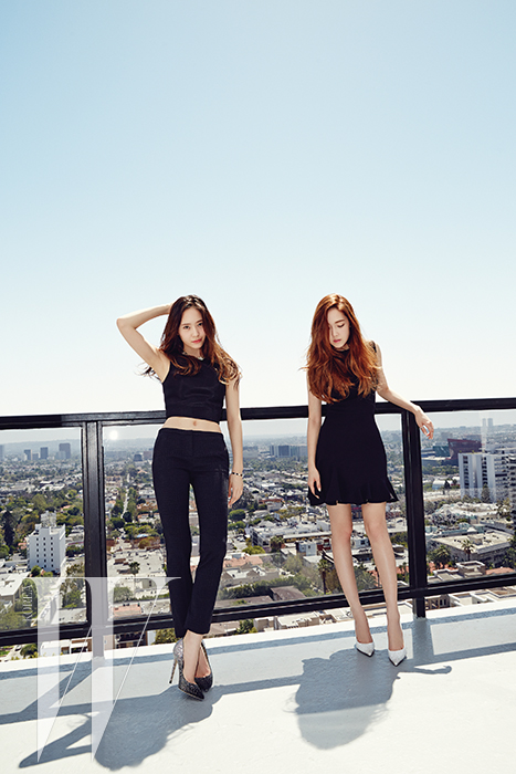Jessica and Krystal for W 2014