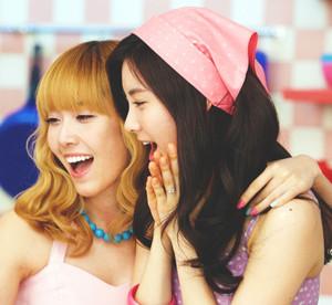 Jessica and Seohyun