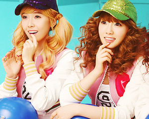 Jessica and Taeyeon
