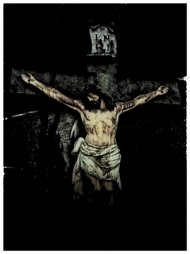 Jesus images jesus on the cross hd wallpaper and background photos jesus wallpaper titled jesus on the cross voltagebd Image collections