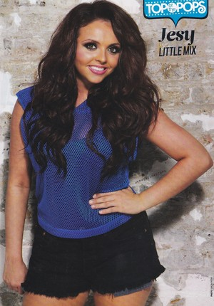 Jesy for 상단, 맨 위로 of the pops magazine
