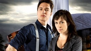 John Barrowman and Eve Myles