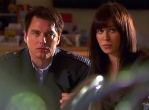 John Barrowman and Eve Myles.