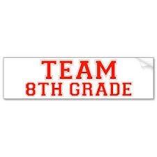 kom bij Team 8th Grade Today!