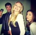 Josh, Emma Bell and Julie Gonzalo ღ