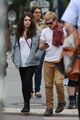 Josh Hutcherson with his girlfriend Claudia Traisac in Berlin