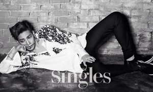 Jun.K for 'Singles'