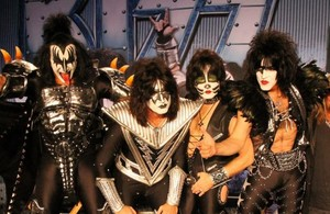 Kiss ~Paul, Gene, Tommy, and Eric