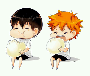 Kageyama and Hinata - Haikyuu!!(High Kyuu!!) Fan Art (37105582 ...