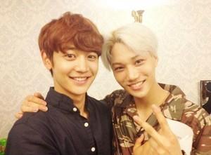 Kai with Minho