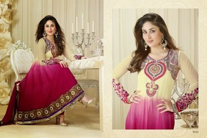Kareena in Beautiful Anarakali Suit