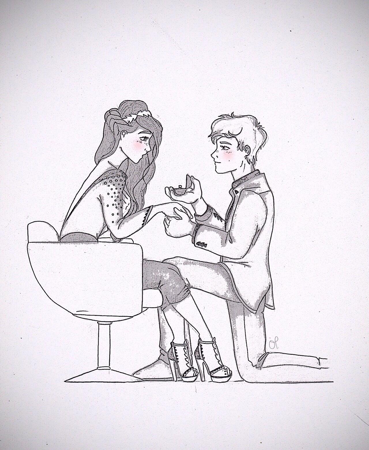 Katniss and Peeta ♬