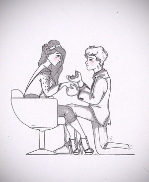 Katniss and Peeta ♬