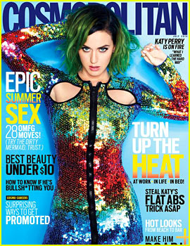 Katy Perry Covers Cosmopolitan's First Ever Global Issue