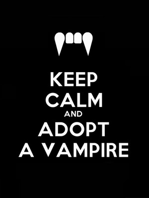 Keep Calm Vampires!