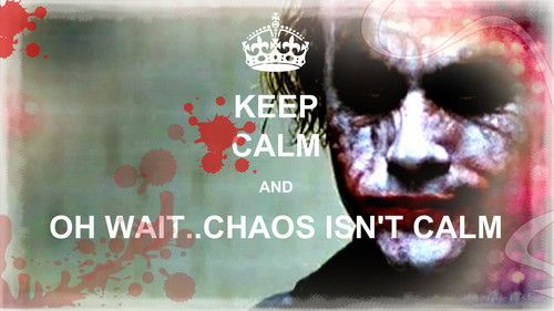 The Joker kertas dinding titled Keep Calm