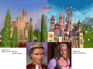 King Dominic is Rapunzel's relative?