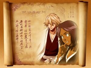 Kisuke and Yoruichi