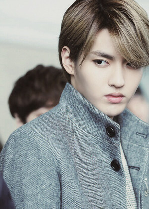 Kris so cool styled❤ ❥