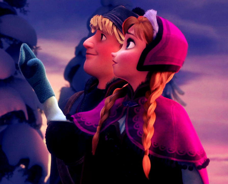 Kristoff and Anna - Frozen Photo (37115944) - Fanpop