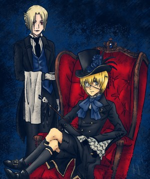 Kuroshitsuji / SnK Crossover - Earl Arlert ans His Demon Butler, Annie
