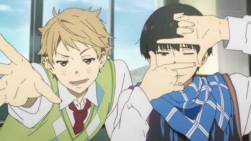 Kyoukai no Kanata achtergrond with anime entitled Kyoukai no kanata