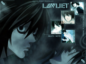 L Lawliet Wallpaper