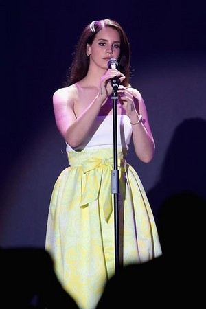 Lana Del Rey at 21st Cinema Against AIDS Gala