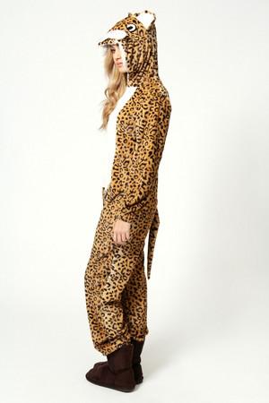 Leopard/cheetah onesie