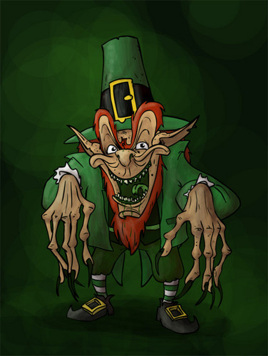 filmes de terror wallpaper containing animê titled Leprechaun