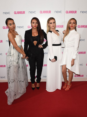 Little Mix at Glamour Awards red carpet