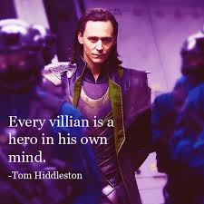 Loki Laufeyson with a quote