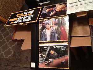 Looking to sell this brand new never used Eminem 8 mile Display