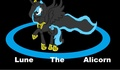 Lune the alicorn