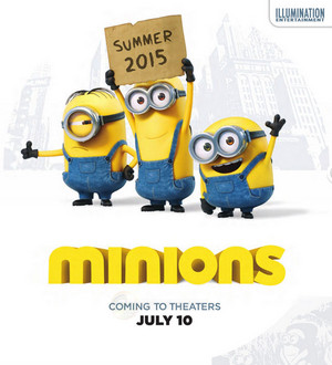 MINIONS (2015) Spin-off Teaser Poster