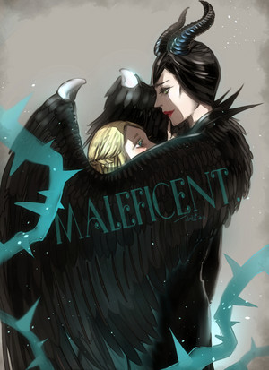 """Maleficent/""""I WILL PROTECT toi FROM EVIL."""