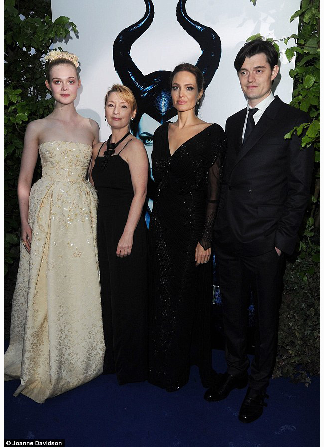 Maleficent Cast At The Premiere Maleficent 2014 Photo