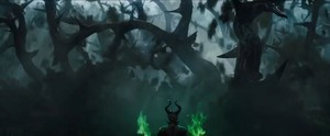 Maleficent's dinding of Thorns
