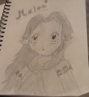 Malon from oot