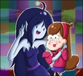 Marceline and Mabel - gravity-falls photo