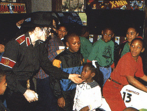 Martin Luther King, Jr. jour At Neverland Back In 1994