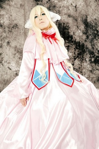Fairy Tail Cosplay karatasi la kupamba ukuta entitled Mavis Vermillion Cosplay