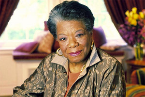 Maya Angelou, 28th May 2014