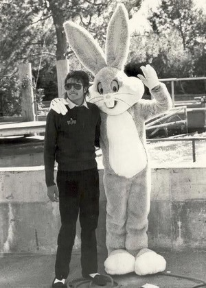 Michael And Bugs Bunny